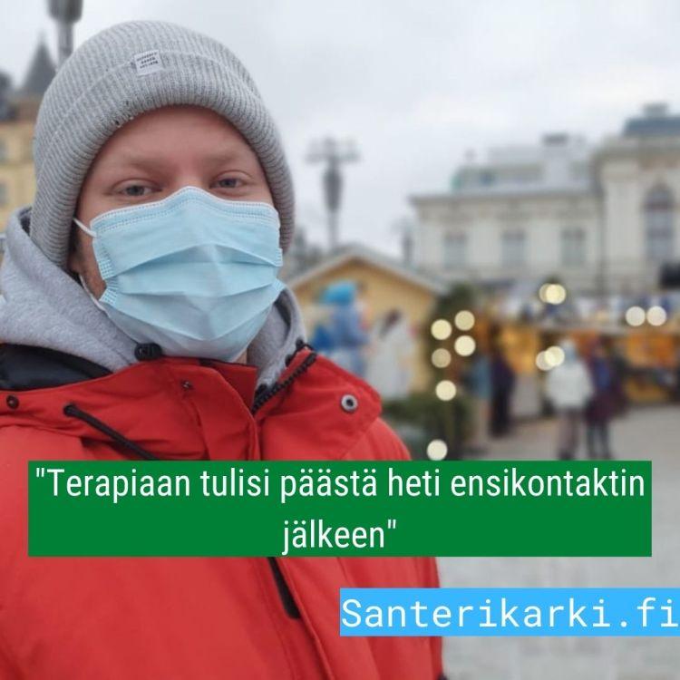 Santeri Kärki,kuntavaalit 2021 Tampere, TIS-Santeri, Terapiatakuu