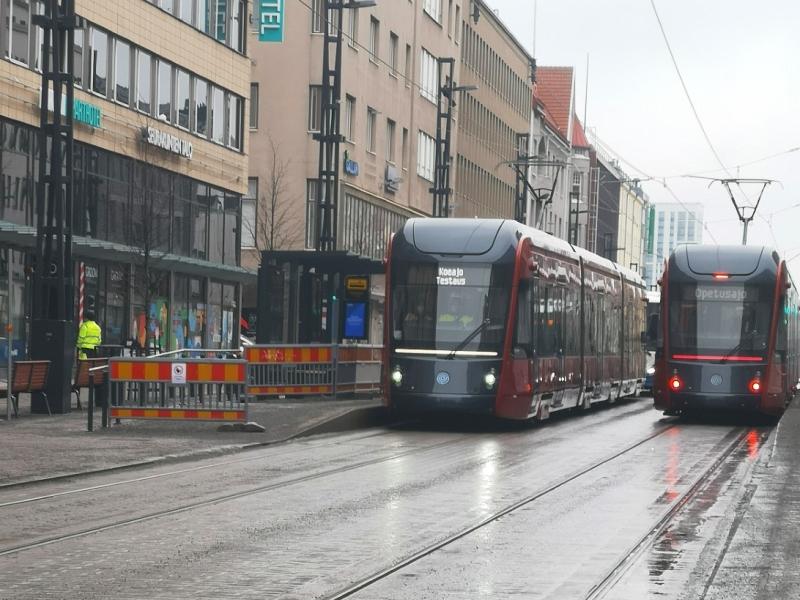 Raitiovaunu, Tampere, kuntavaalit 2021, Vihreät, Ratikka, Tampereen ratikka, Santeri Kärki