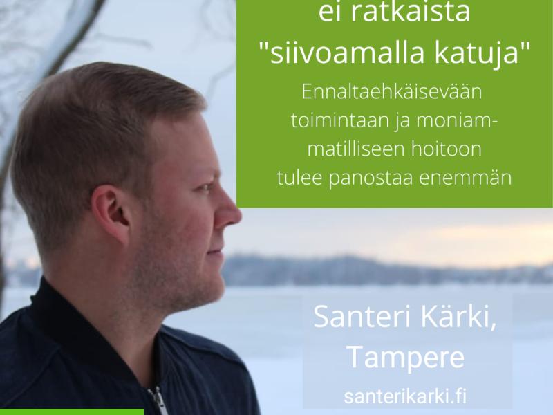 Santeri Kärki, Terapia, Mielenterveys, Kuntavaalit 2021 Tampere, Kuntavaalit tampere, Kuntavaalit vihreät tampere, Tampere vihreät ehdokkaat kuntavaalit 2021
